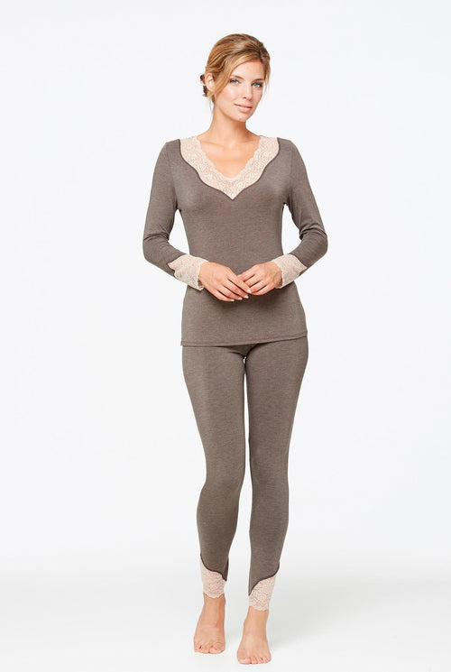Body Bliss Loungewear - Chocolate