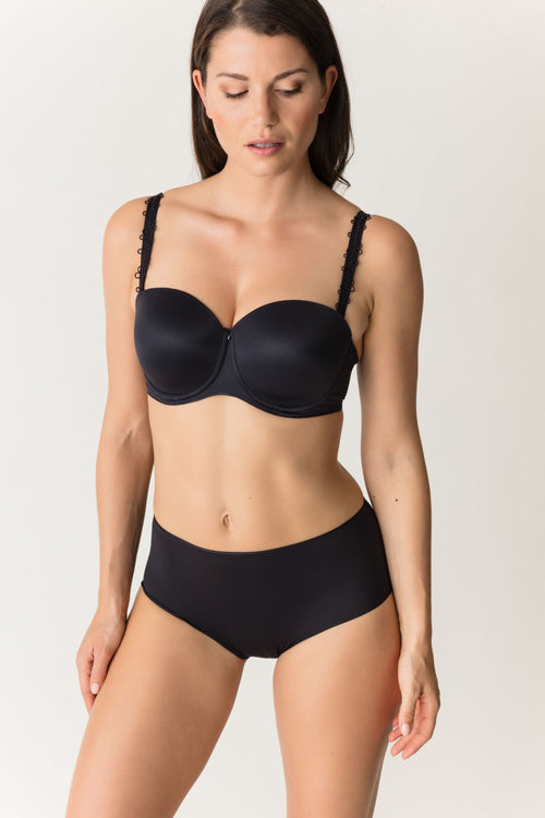 Prima Donna Perle Full Briefs (Black)