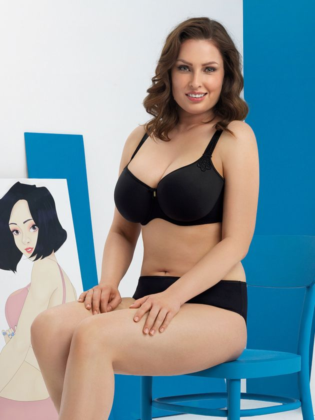 Corin Virginia Spacer Bra - Black