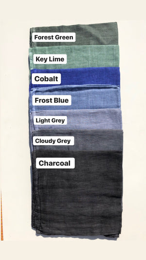 Rustic Stitched Solids