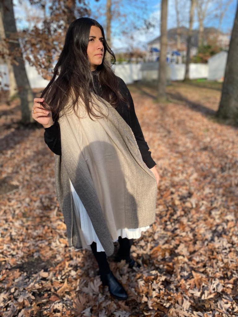 SB Luxe Soft Hues Blanket Scarf