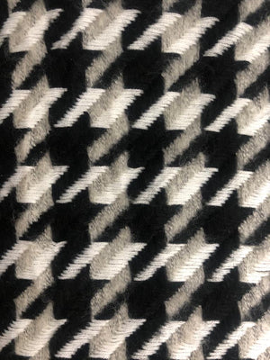 Luxe Warm Houndstooth SB Blanket Scarf
