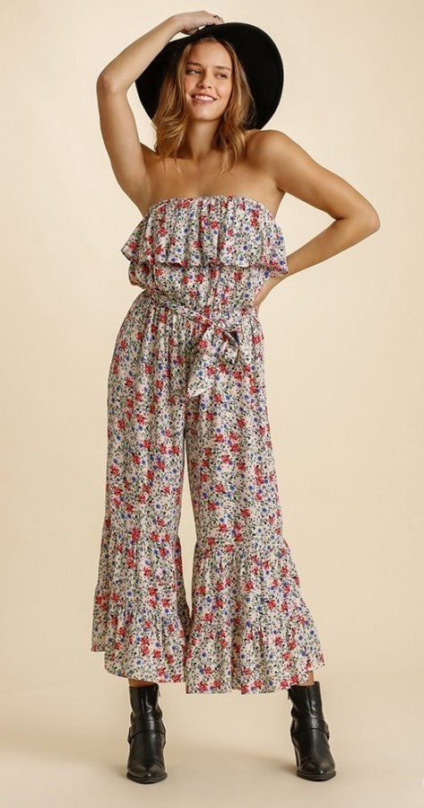 Ramble On Floral Romper