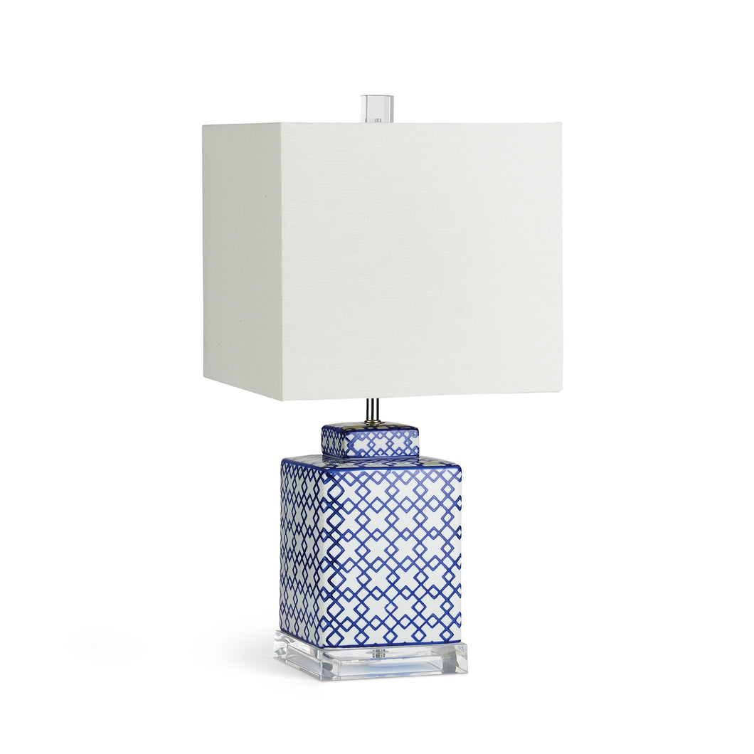FRETWORK SQUARE LAMP SMALL
