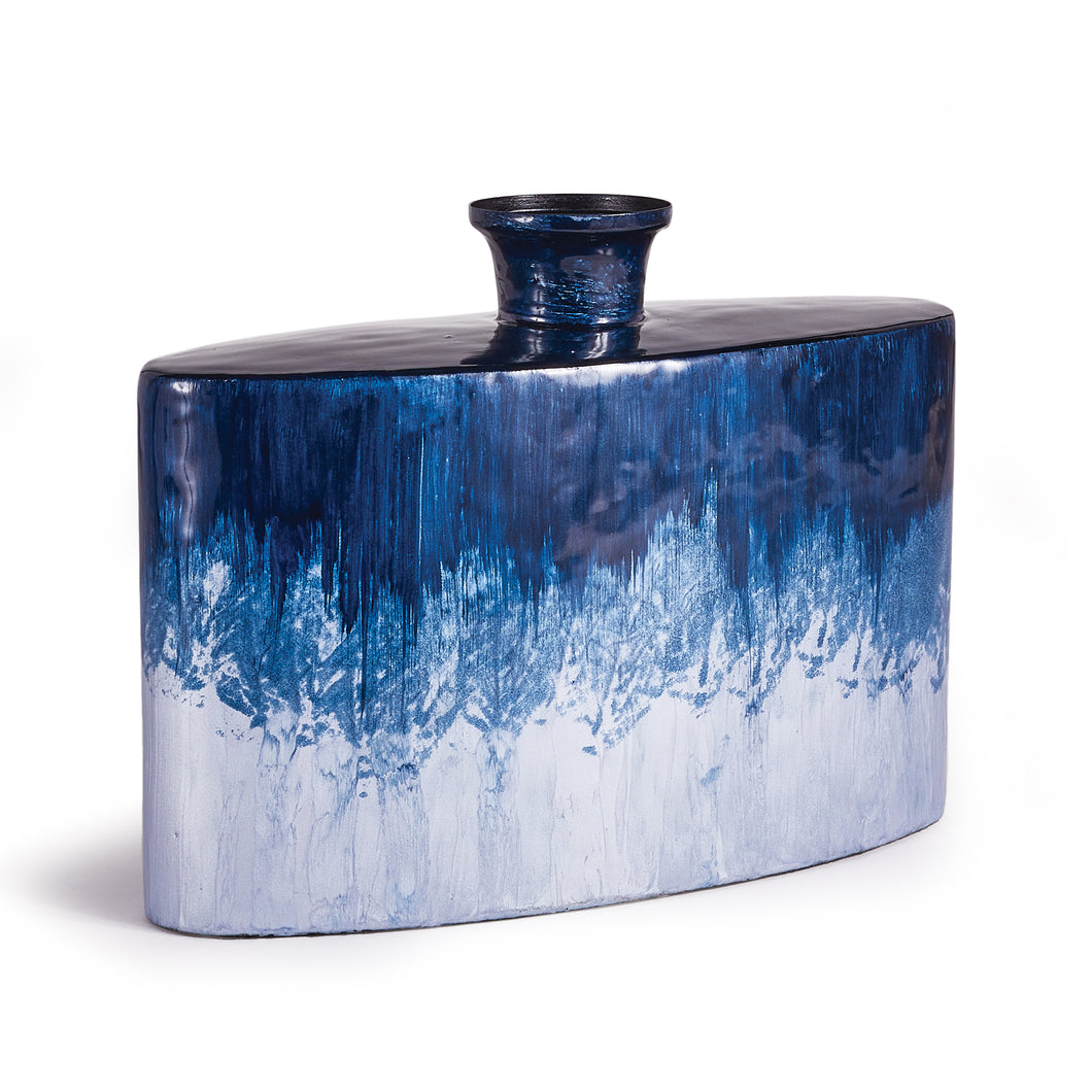 AZUL DECORATIVE FLASK VASE