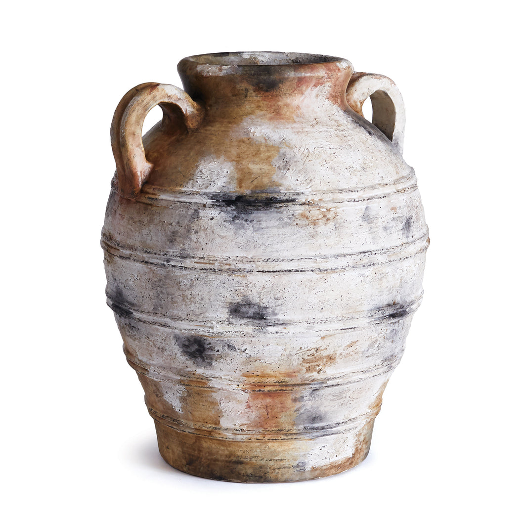 ANTIQUITIES URN WITH HANDLES