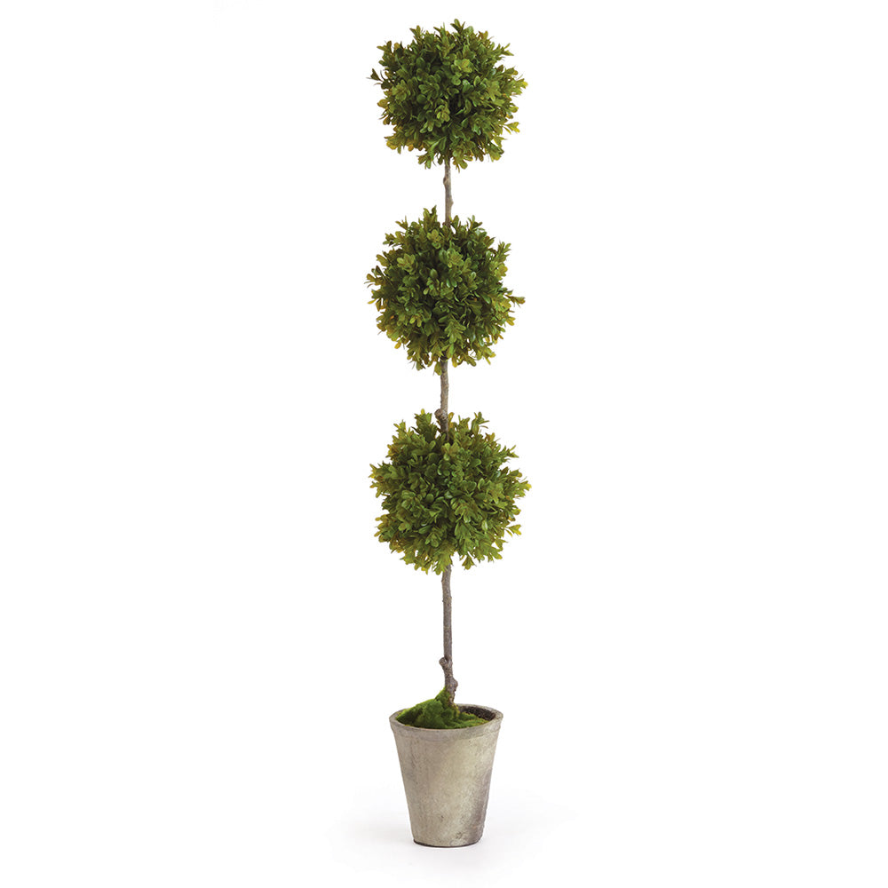 BARCLAY BUTERA FAUX BOXWOOD TOPIARY POTTED 36