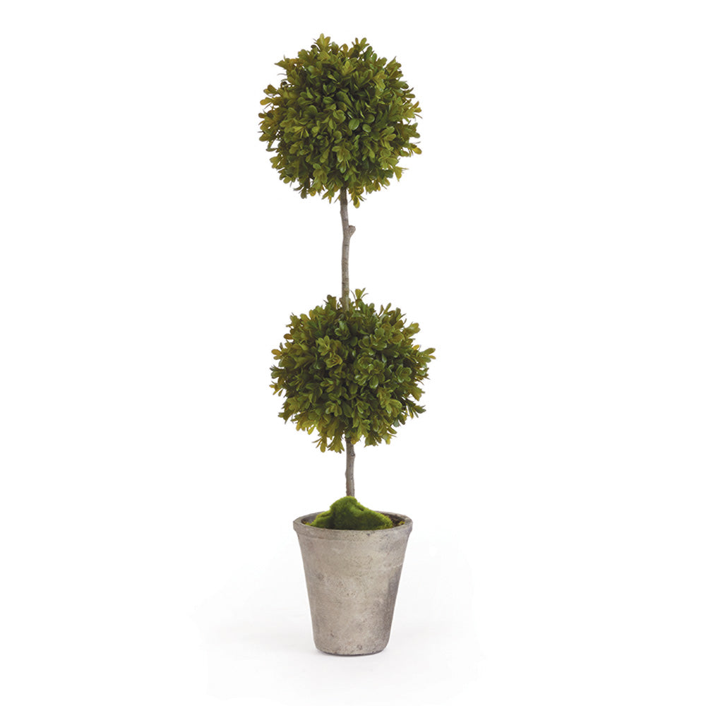 BARCLAY BUTERA FAUX BOXWOOD TOPIARY POTTED 25