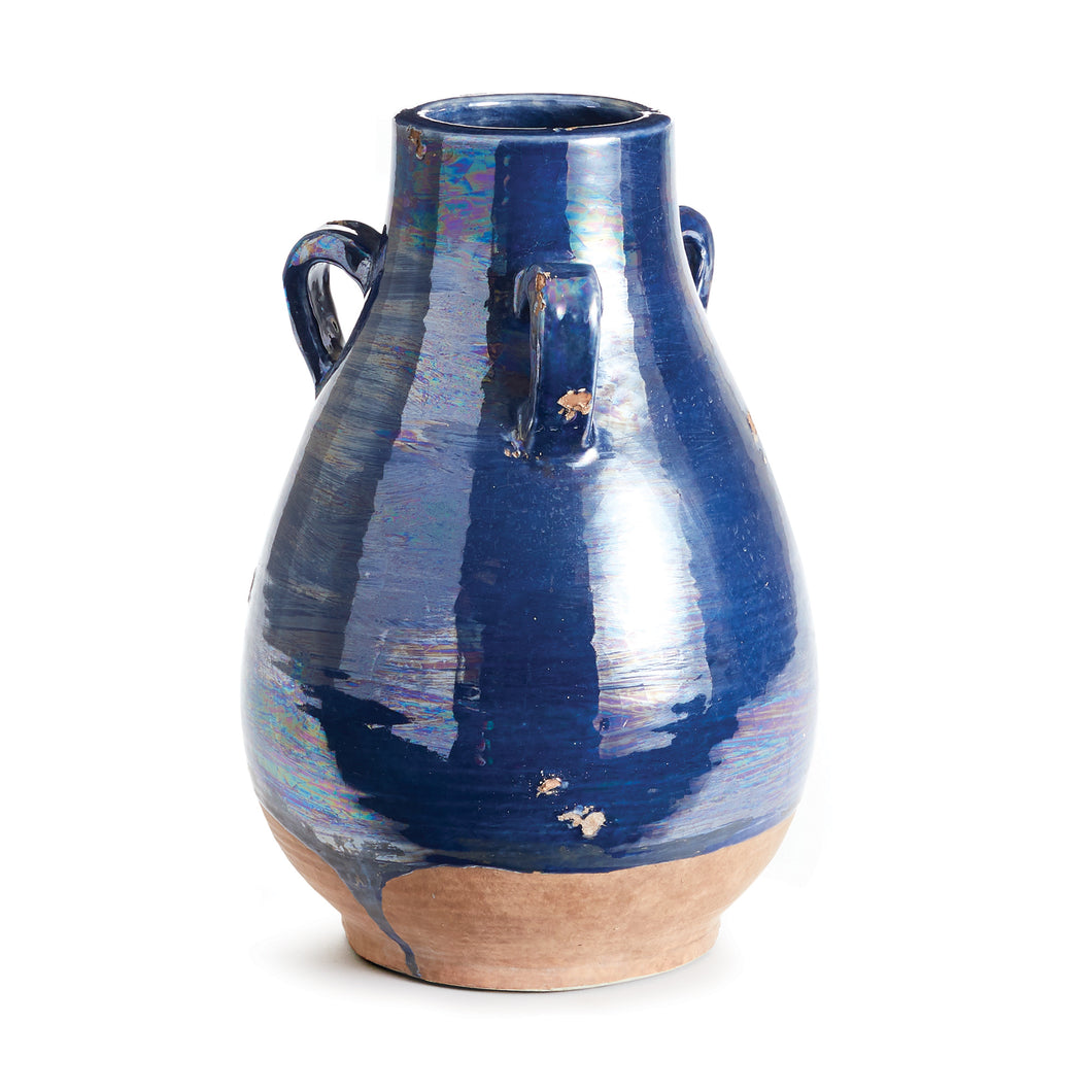 SEGOVIA VASE WITH HANDLES SMALL