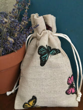 Load image into Gallery viewer, Butterfly lavender sachets aromatherapy all natural relaxation sleep aid