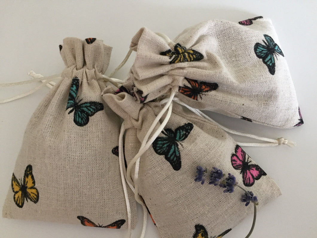 Butterfly lavender sachets aromatherapy all natural relaxation sleep aid
