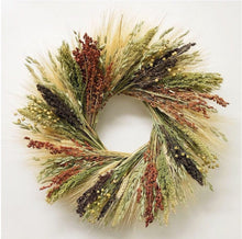 Load image into Gallery viewer, Birdfeed organic wreath- a great bird lover gift! October delivery