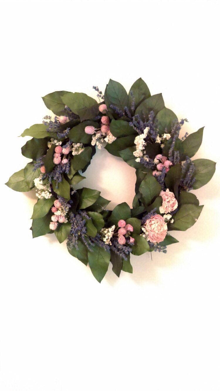 Diy floral wreath kit. #stayhome #socialdistancing crafting project . Great Easter Spring Mothers Day decor