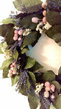 Load image into Gallery viewer, Diy floral wreath kit. #stayhome #socialdistancing crafting project . Great Easter Spring Mothers Day decor