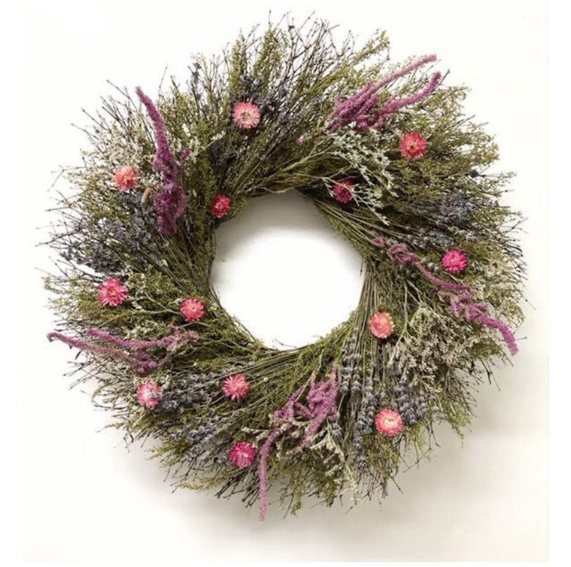 Sweet Summer Fields Wreath 22 Inch