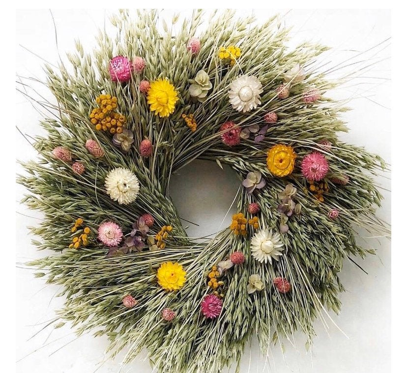 Garden Party Wreath - New Design 22 inch