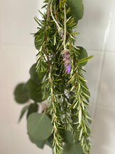 Load image into Gallery viewer, Natural Shower Steamers - Eucalyptus, Rosemary and lavender