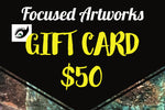 Official Focused Artworks Gift Card