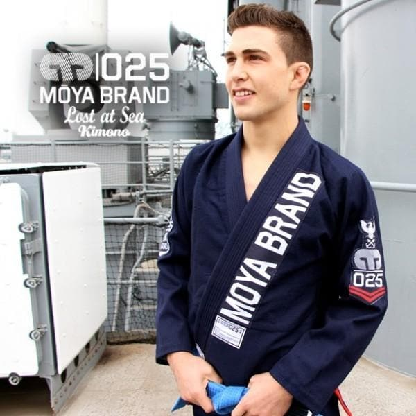 Moya Brand Lost At Sea Kimono- Bleu marine - StockBJJ