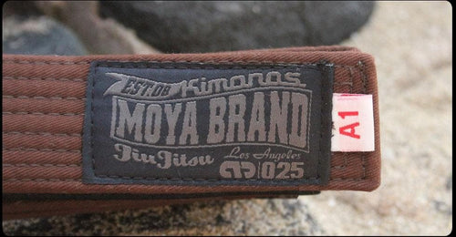 Moya Brand Adult BJJ Belt - Brown