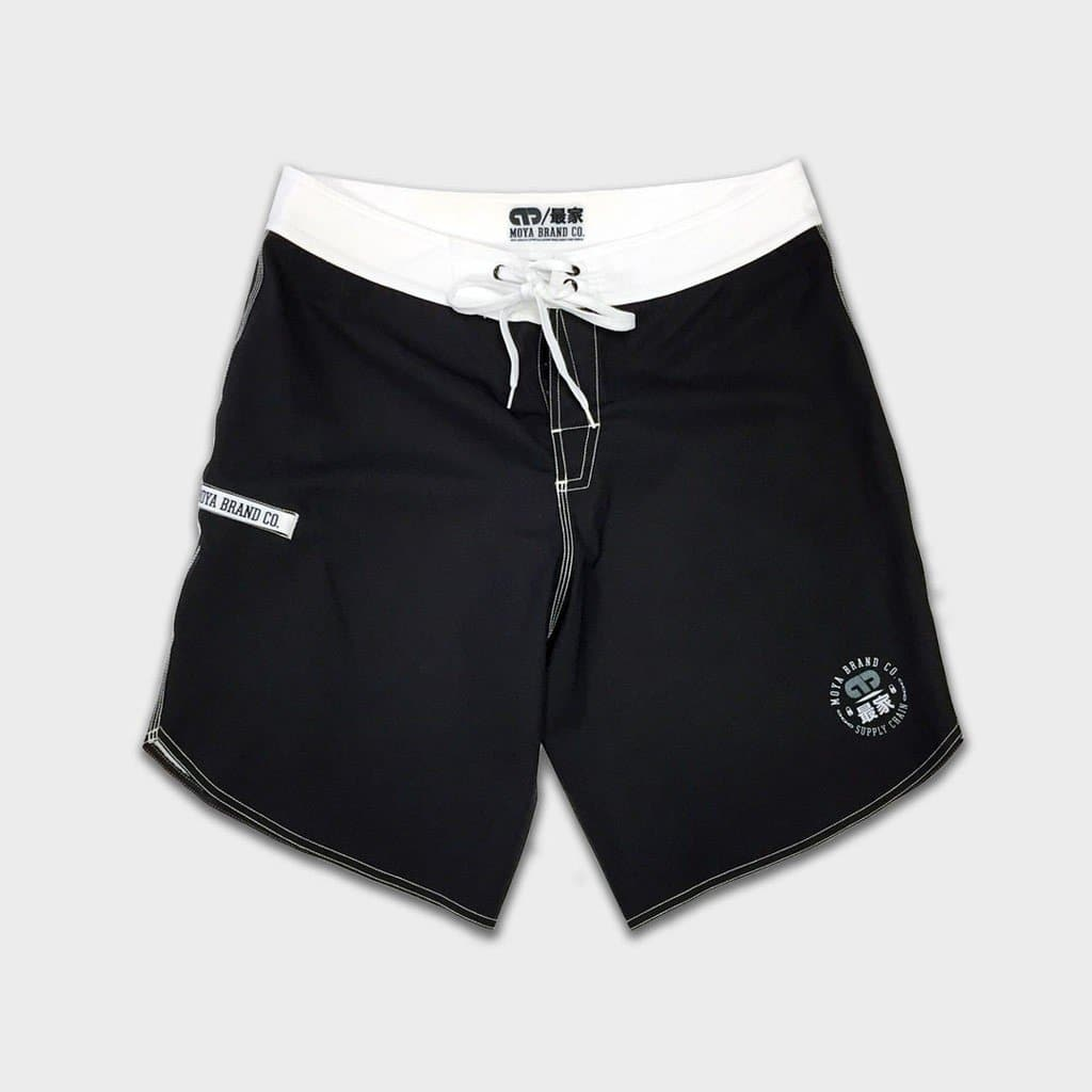 Moya White Cafe Boardshorts - StockBJJ