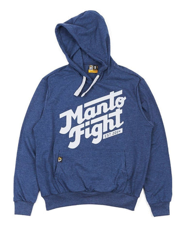MANTO hoodie CALI LIGHT- Azul Denim