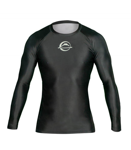 Rashguard Fuji Sports Baseline Ranked - Black