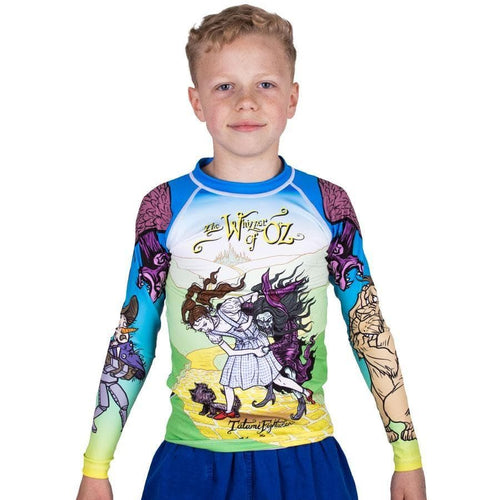 Tatami Kid's Meerkatsu Whizzer Of Oz Rash Guard