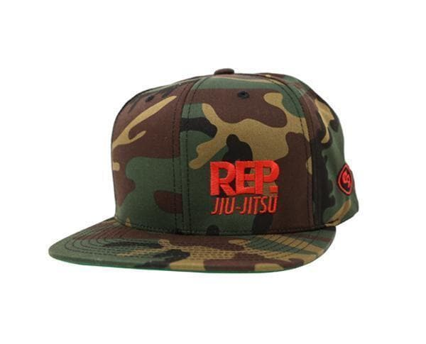 Choke Republic Rep. Snapback Hat - StockBJJ