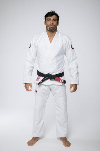BJJ Gi - Kingz Classic 3.0 - White with white belt included