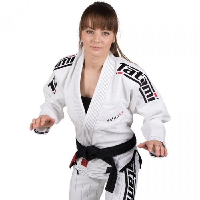 Tatami Ladies Estilo 6.0- Blanco y Negro - StockBJJ