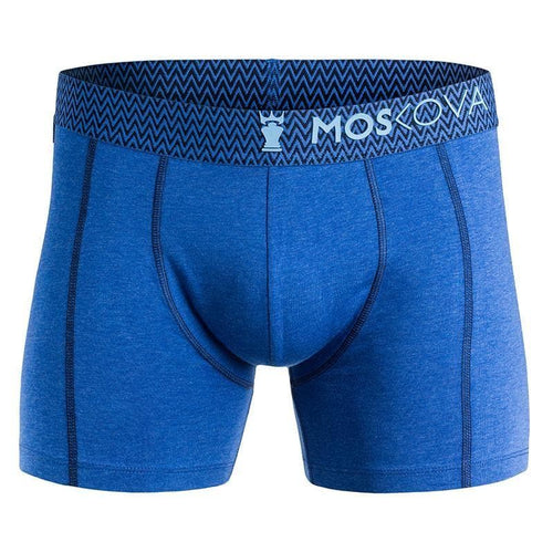 Boxer Moskova M2 Algodón - Heather Blue