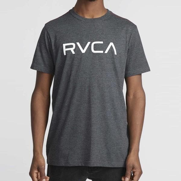Camiseta Big RVCA Vintage- Charcoal - StockBJJ