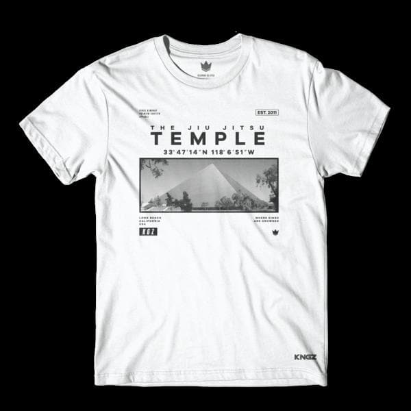 Camiseta Kingz Temple- Blanco - StockBJJ