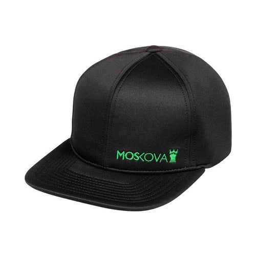 Side Script Full Hat MOSKOVA- Negro- Verde