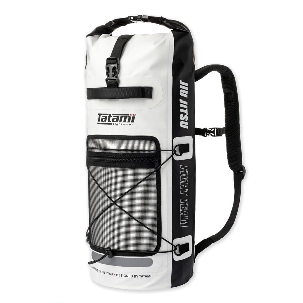 Tatami Dry Tech Gear Bag- Blanco y Negro - StockBJJ