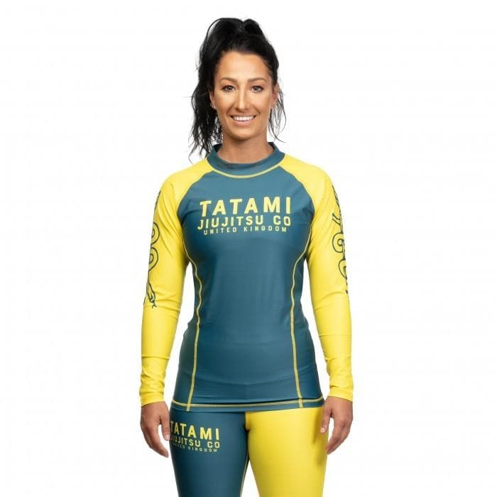Rashguard Tatami Ladies Supply Co Navy Long Sleeve - Bleu Marine