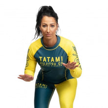Charger l'image dans la galerie, Rashguard Tatami Ladies Supply Co Navy Long Sleeve - Bleu Marine
