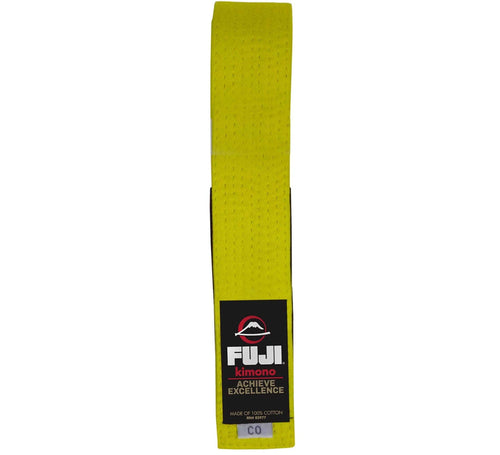 BJJ Fuji Kids Belts - Yellow