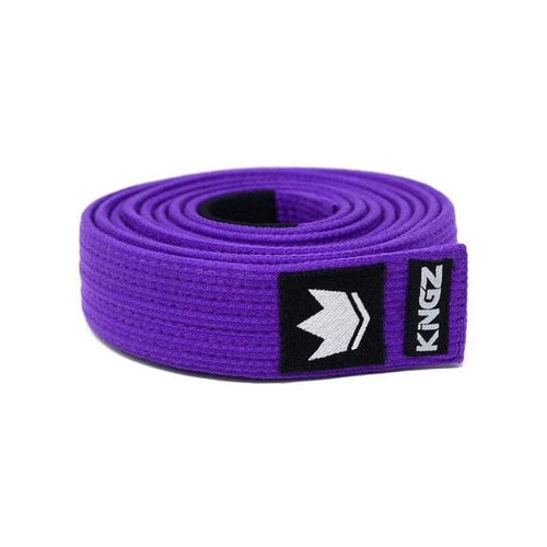 Kingz Gi Premium Material Belts - Purple