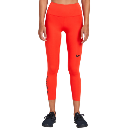 RVCA Sport Legging II- Red Flame