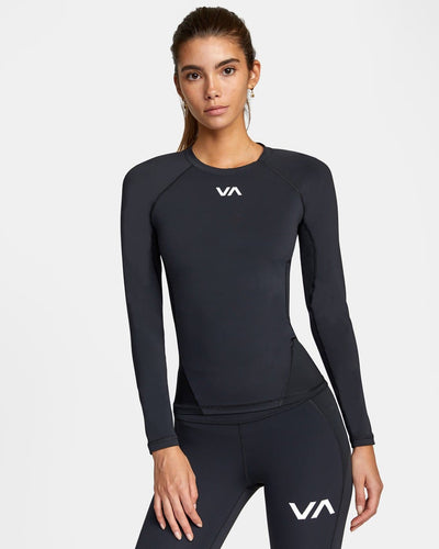 Rashguard RVCA Long Sleeve Compression T-shirt