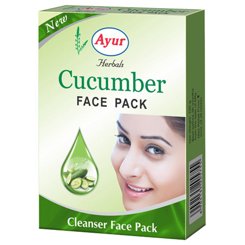 Ayur Cucumber Face Pack 100gm