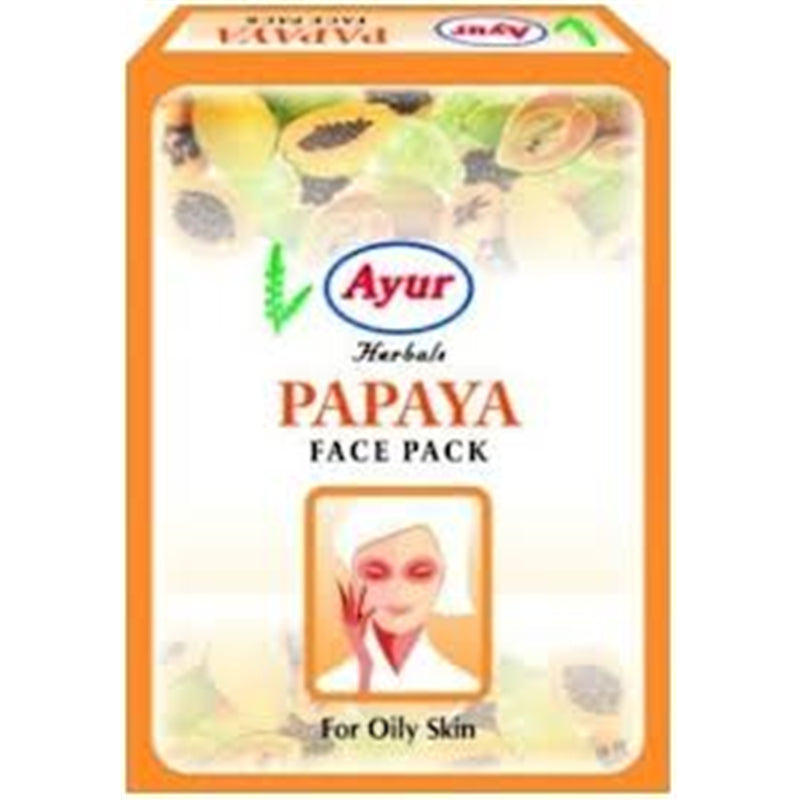 Ayur Papaya Face Pack, 100gm