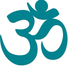 Load image into Gallery viewer, Yoga Namaste Symbol Metal Art Wall Sign