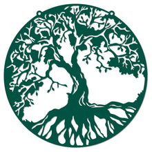 Load image into Gallery viewer, Delicate Stencil Tree of Life Delicate Stencil Wall Sign