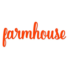"Load image into Gallery viewer, ""Farmhouse"" Beautiful Metal Art Wall Sign"