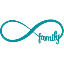 Load image into Gallery viewer, Family Forever Infinity Sign