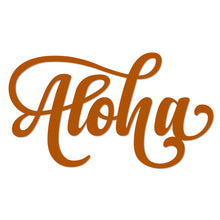 Load image into Gallery viewer, Stylish Aloha Metal Art Wall Sign