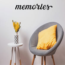 "Load image into Gallery viewer, Beautiful ""Memories"" Sign"
